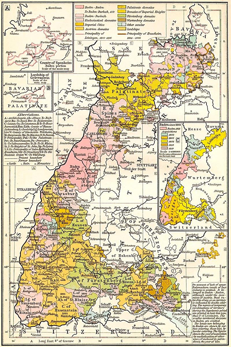Historical German Maps Photo Gallery
