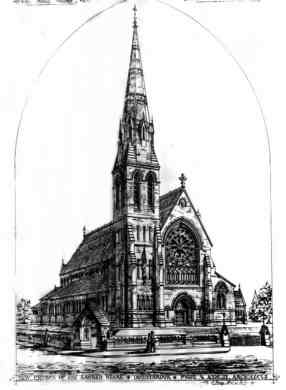 Donnybrook Church 1866 plan