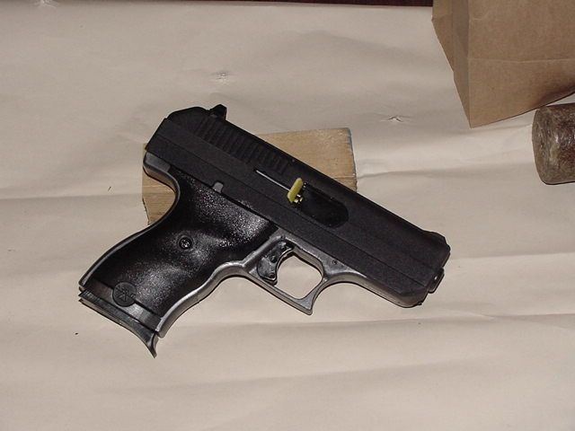 Cleaning a Hi-Point 9mm Composite Pistol