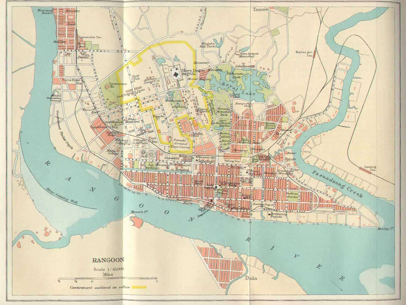 online burma library reading room maps and satellite imagery