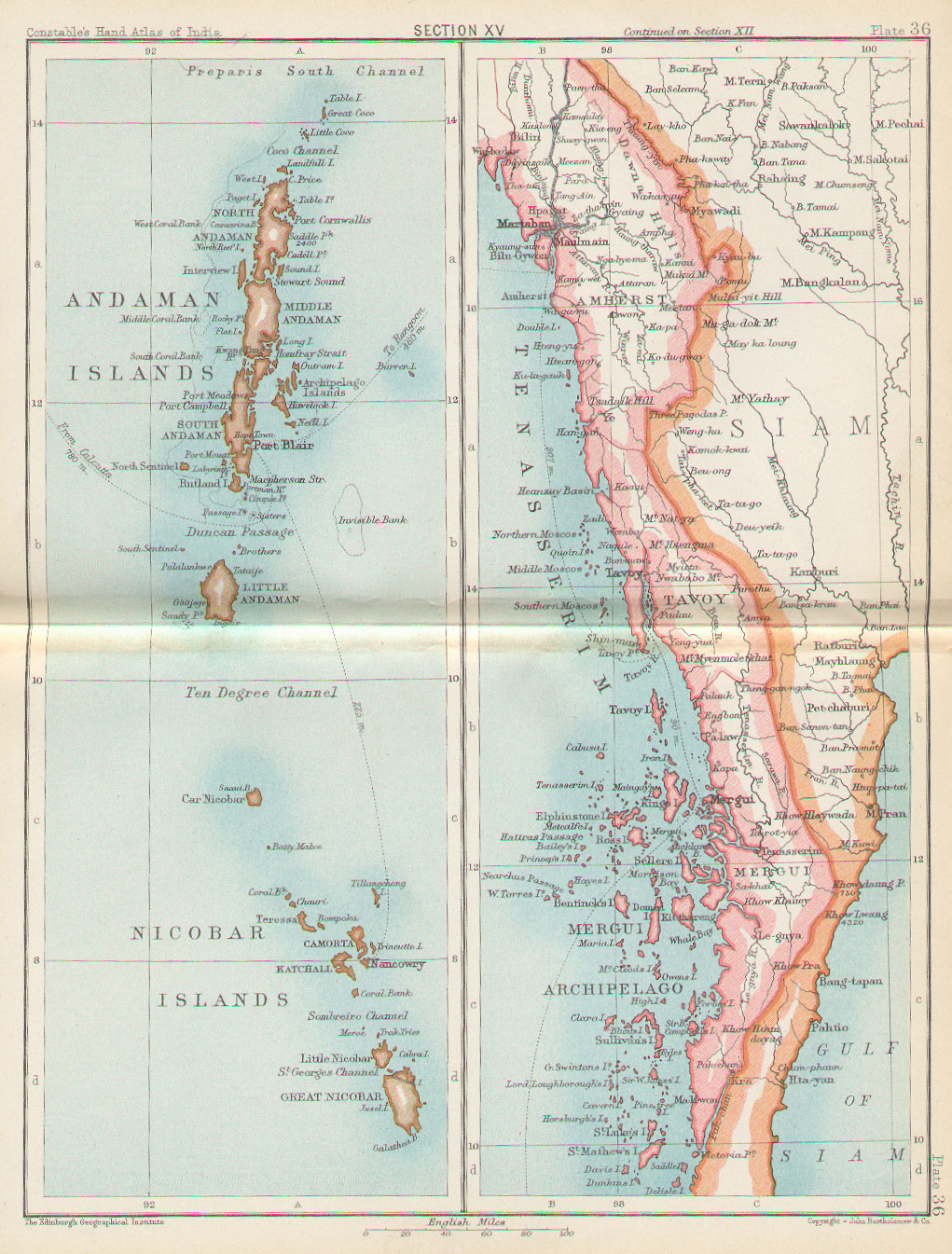Historical Maps of India