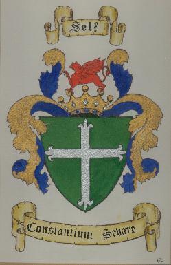Selfe Crest by K.J. Pinkerton