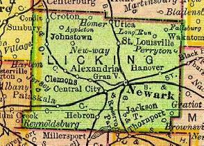 Licking County, Ohio History and Genealogy