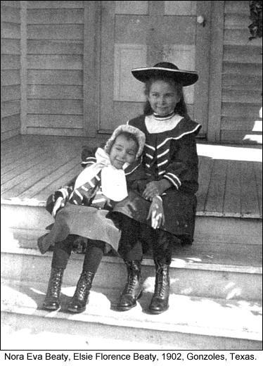 Elsie and Eva Beaty