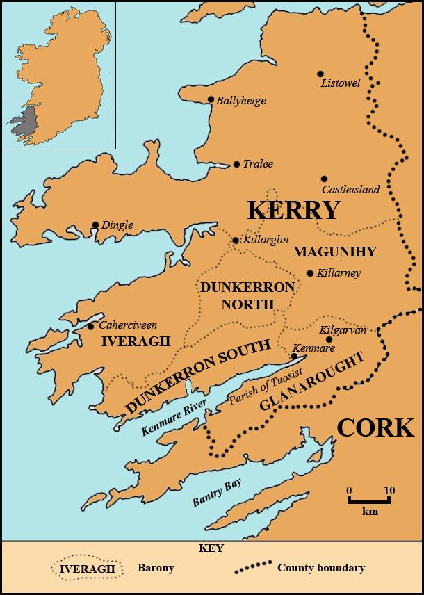 The Mayburys of County Kerry Ireland