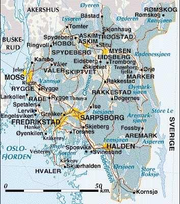 oslo fylke Sarpsborg