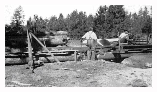 belsaw one man sawmill